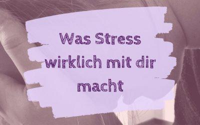 Was Stress wirklich mit dir macht